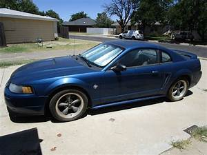 Fourth generation blue 1999 Ford Mustang GT For Sale - MustangCarPlace