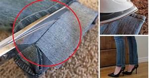 Faire Ourlet Jean : comment faire un ourlet votre jean chez vous ~ Melissatoandfro.com Idées de Décoration