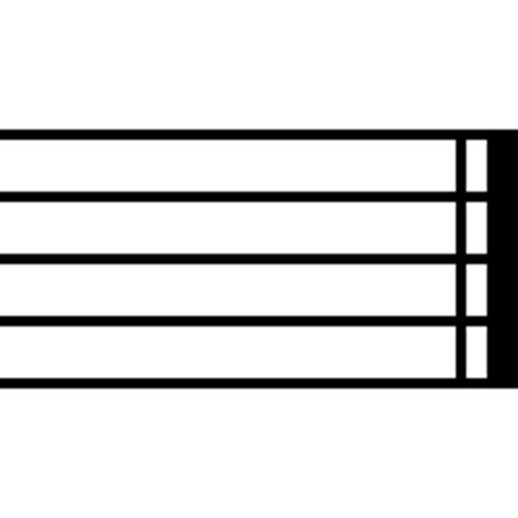 Different types of bar lines indicate different player behavior, from continuing onward to repeating a section to stopping the music altogether. Archivo:Music-endbar.png - Wikipedia, la enciclopedia libre