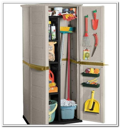 cleaning supplies storage cabinet broom closet cabinet smart and practical solution to