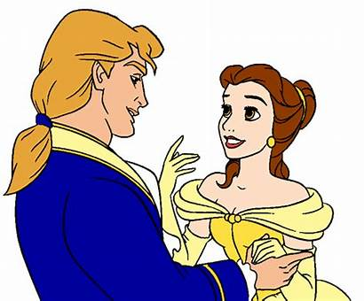 Belle Clipart Disney Princess Beast Prince Adam