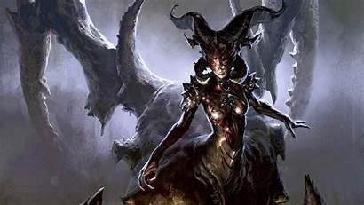 Demon Wallpapers Fantasy Wallpapersafari Lelek Tim January