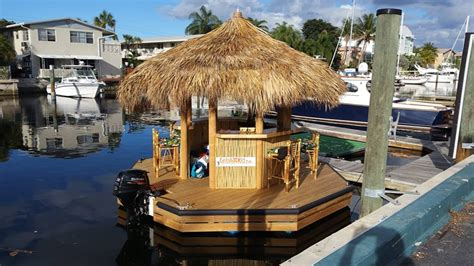 Jet Ski Boat Accident Georges River by Cruisin Tikis Floating Tiki Bars Available For Rent In