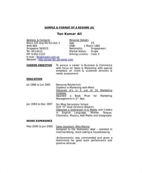 housekeeping resume template mt home arts