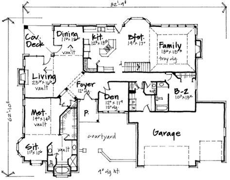 six bedroom floor plans european style house plan 6 beds 3 5 baths 5570 sq ft