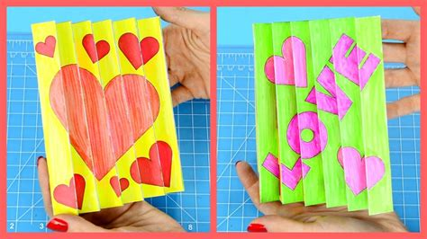 Agamograph Valentine's Day Craft For Kids