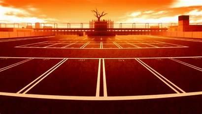 Anime Monogatari Tennis Court Series Wallpapers Field
