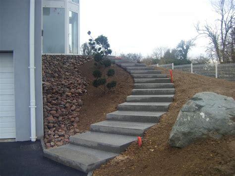 escalier exterieur en beton escaliers en beton desactive