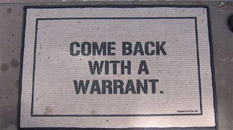 Warrant Doormat by Supreme Court To Cops Who Want To Search Your Cellphone