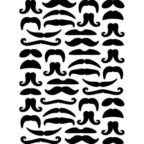 pochoir pour cuisine pochoir de gaufrage darice moustaches cartoscrap