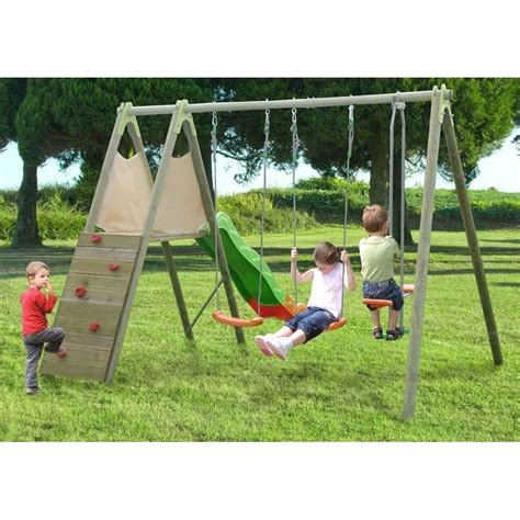 altalene da giardino in legno altalena in legno per bambini con giochi da giardino