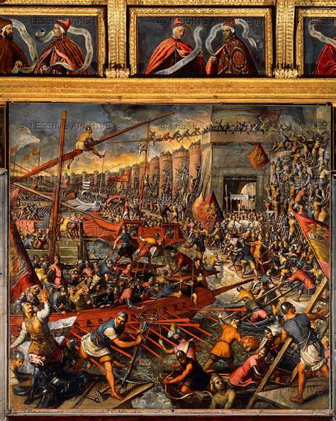 siege de mural vi 225 tico de vagamundo siege and sack of constantinople 1204
