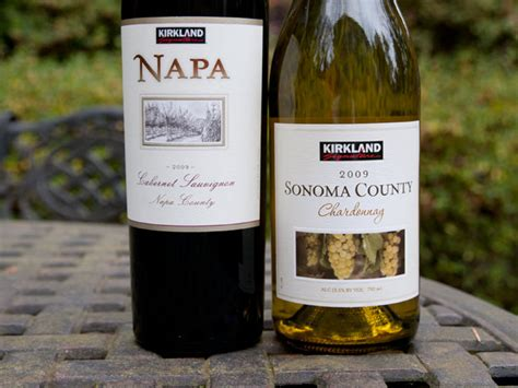 wine costco kirkland cabernet sonoma chardonnay napa cheap wines brand brands august drinks under county sweet names version updated published