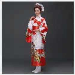 Classic Traditional Floral Kimono Sexy Women Yukata With Obi Vintage Party Prom Dress Japanese Cosplay Costume One Size