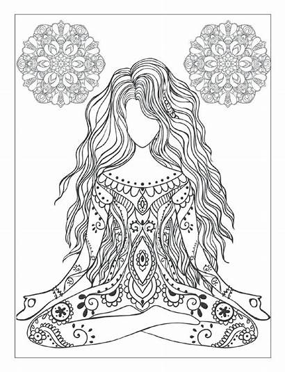 Coloring Chakra Pages Printable Books Getcolorings Colorings
