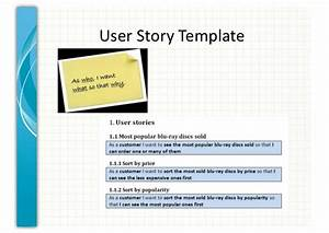 user story template cyberuse With scrum user stories template