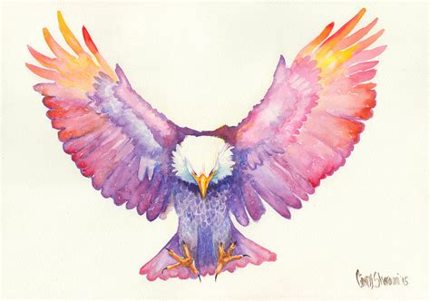healing wings painting by cindy elsharouni