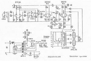 Echolette B40n Sch Service Manual Download  Schematics