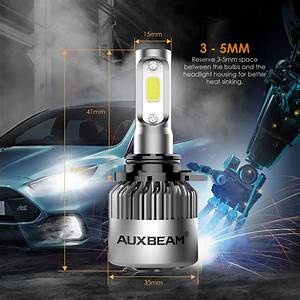 Headlight Bulbs Automotive 2 Year Warranty Auxbeam H4 Led