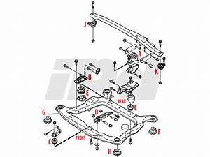 Volvo Upper Engine Stabilizer Mount P2 S60 V70 Xc70 S80