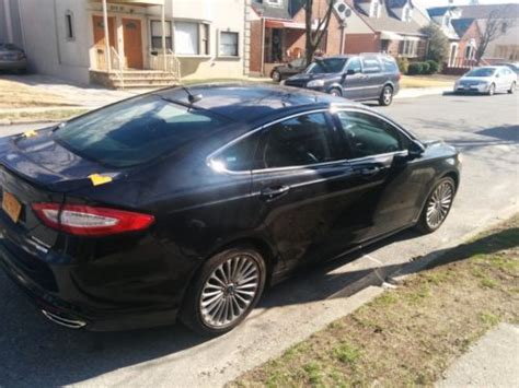 Ford Fusion Turbo by Find Used 2013 Ford Fusion Titanium 2 0 Turbo W Tons Of