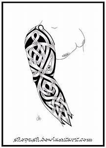 designing a tattoo sleeve template - full sleeve tattoo 8 by shepush on deviantart