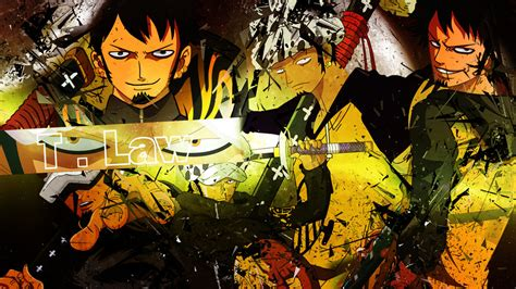 Trafalgar Law Wallpaper By Dinocojv On Deviantart