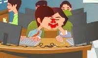 jeux de bisou au bureau bisous en cachette au bureau jeu de fille