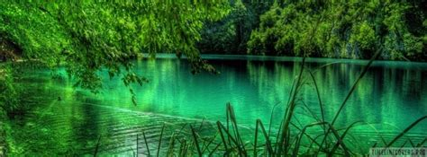 emerald green lake facebook cover
