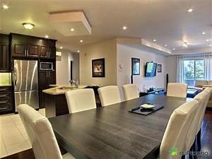 salon cuisine 50m2 cuisine en image With salon cuisine aire ouverte