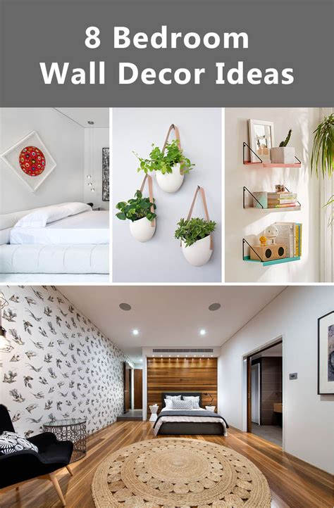 Decorating Ideas For Uneven Walls by 8 Bedroom Wall Decor Ideas To Liven Up Your Boring Walls