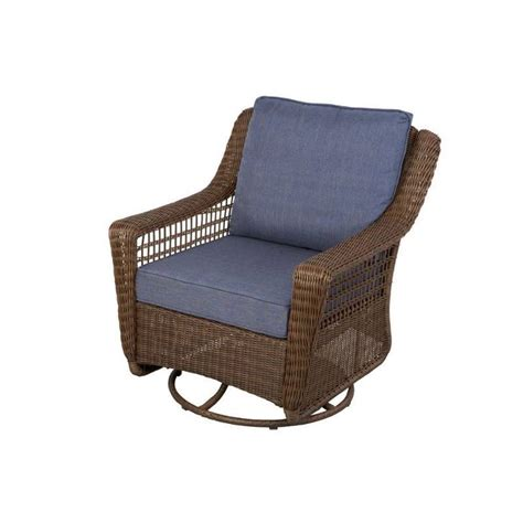 hton bay brown all weather wicker patio