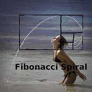 Fibonacci Spiral Girl