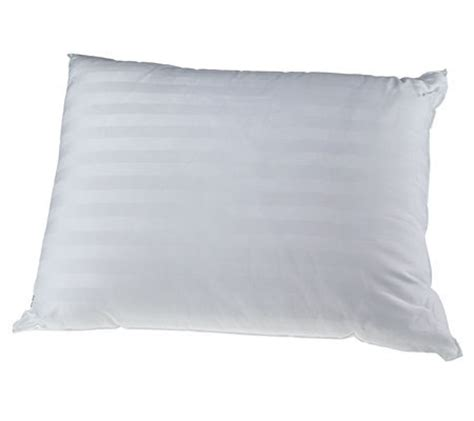simmons beautyrest pillows simmons beautyrest pocketed coil 250 tc bed pillow qvc