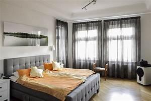 Spannseil Für Gardinen : moderne schlafzimmer gardinen raumausstatter berlin ~ Michelbontemps.com Haus und Dekorationen