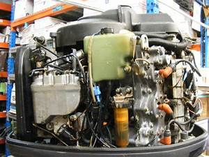 2001 Yamaha 150 Hp Hpdi Outboard 25 U0026quot  Shaft Rh Engine Motor 2 Stroke 481 Hours