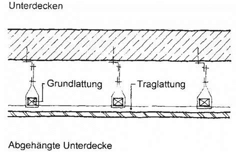 Unterdecke Baulexikon