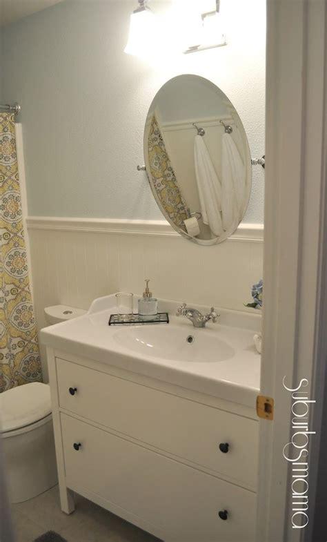 ikea bathroom vanity      easier