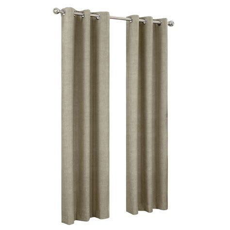 sun zero plum tom thermal lined curtain panel 40 in w x