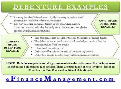 Debenture Example Finance Examples Sources Efinancemanagement Bond