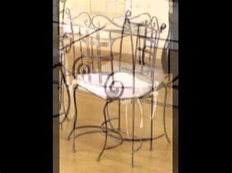 chaise table meuble de salle a manger en fer forg 233
