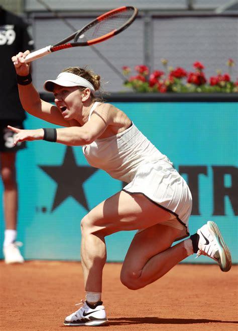 Madrid Open: Kiki Bertens ousts Maria Sharapova, Karolina Pliskova beats world No 1 Simona Halep - WTA Madrid 2018 - Tennis - Eurosport