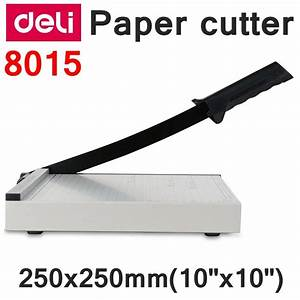 Readstar Deli 8015 Manual Paper Trimmer Size 250x250mm 10