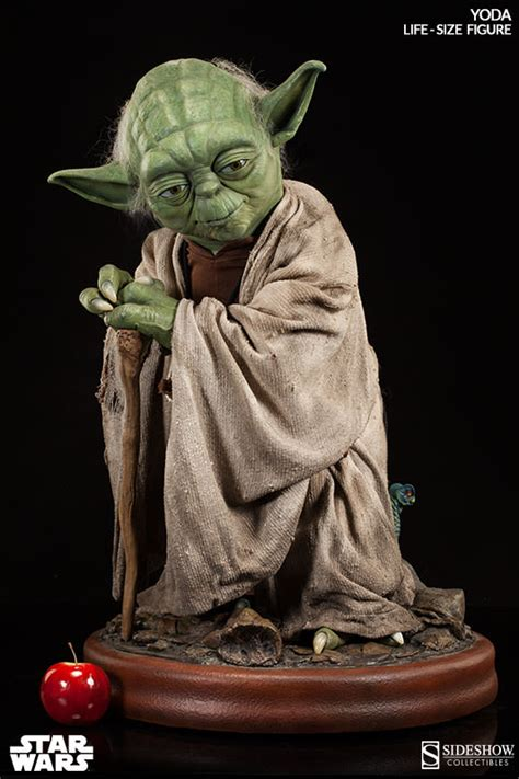 life size yoda statue sideshow collectibles