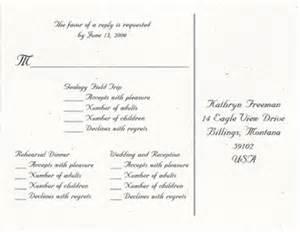 wedding response card wording response card wording