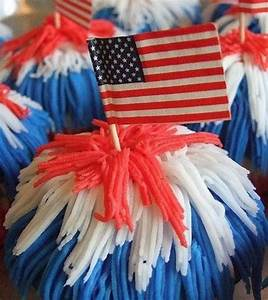 Independence, Day, Cakes, Cupcakes, Decorating, Ideas