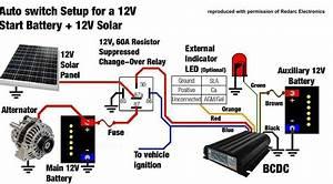 12v Solar Panel Wiring Diagram