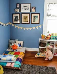 Lit Enfant Sol : 78 best images about chambre d 39 enfant on pinterest turquoise livres and bebe ~ Nature-et-papiers.com Idées de Décoration