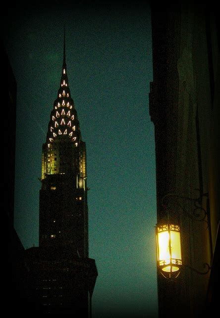 Chrysler Building NYC at Night