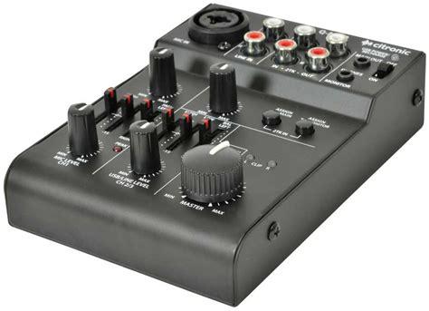 2 Channel Battery Powered Mixer  Mini Mixers Distributors